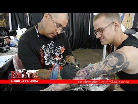 Eddie diaz of odyssey tattoo kailua kaneohe pacific for Tattoo expo hawaii