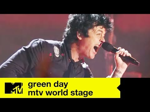 Green Day   FULL LIVE SHOW   MTV World Stage