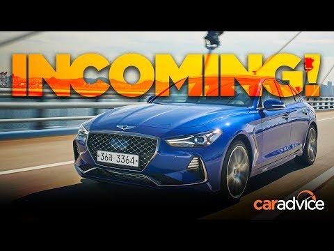 Genesis G70 REVIEW Hyundai s 3 Series rival appears