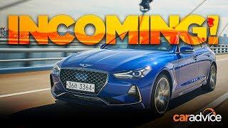Genesis G70 REVIEW: Hyundai