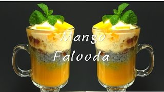 Mango Falooda Video Recipe   Bhavna's Kitchen