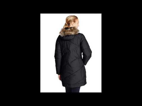 columbia womens snow eclipse mid jacket black large - YouTube 258b5c818