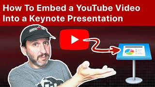 How To Embed A Youtube Video Into A Keynote Presentation Youtube