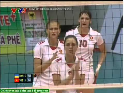 Chung Kết VTV Cup 2010:Việt Nam Vs Vingroup-2