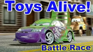 Cars 2: The video game ☆ Wingo ☆ Battle Race on Hyde Tour