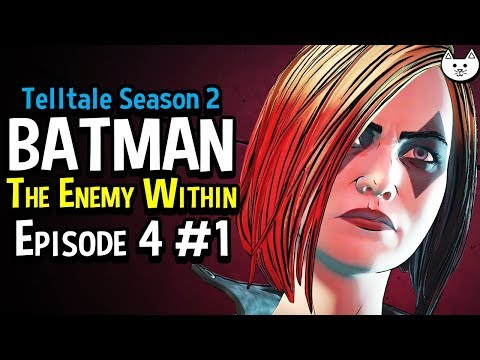 Batman The Enemy Within Episode 4 - EVERYONE'S SECRET - ( Telltale Batman Season 2 EP.4 #1)