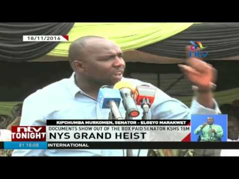 NYS Grand Heist: Murkomen denies receiving millions of NYS cash