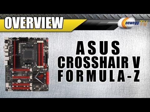 Newegg TV: ASUS Crosshair V Formula-Z AM3+ AMD 990FX Gaming Motherboard Overview