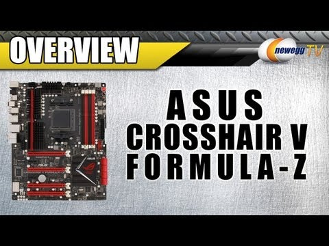 Newegg TV: ASUS Crosshair V Formula-Z AM3+ AMD 990FX Gaming Motherboard Overview