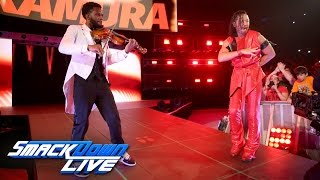 Shinsuke Nakamura 2nd Entrance on SmackDown POP (HD)