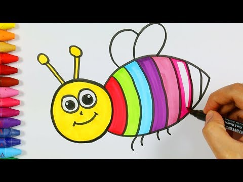 Как нарисовать осу ребенку