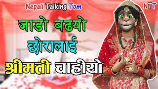 Nepali Talking Tom - SHREEMATI श्रीमती चाहियो Comedy Video 2019 - Talking Tom Nepali Comedy Video