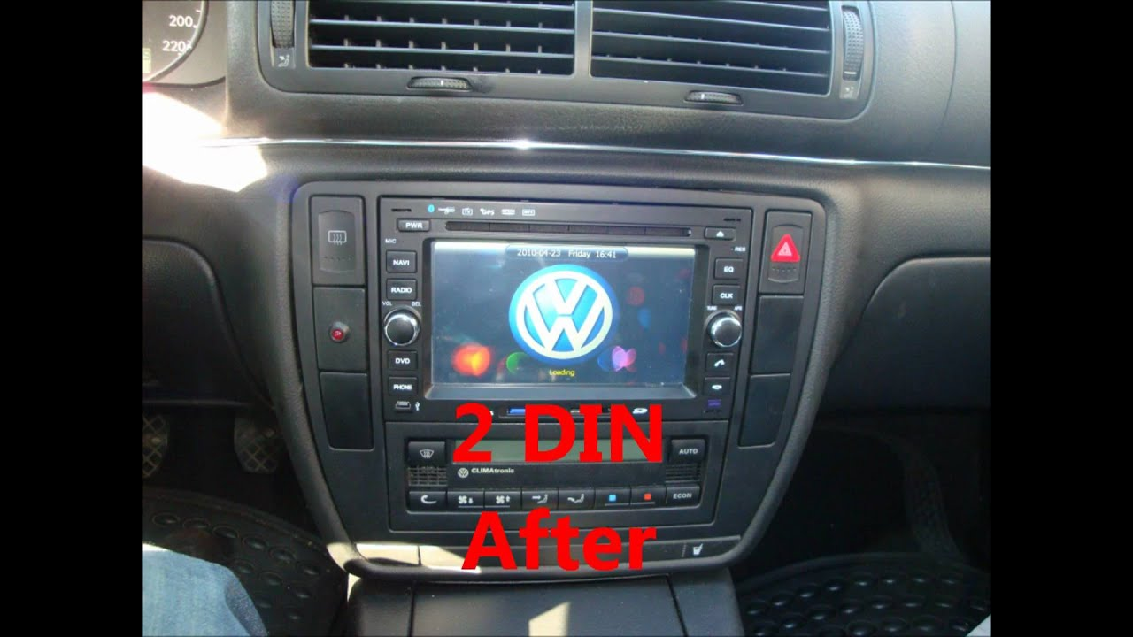Vw Passat Dvd Gps Youtube