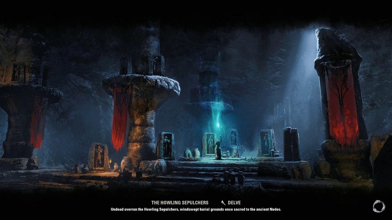 The Elder Scrolls Online Elsweyr - Necromancer Walkthrough 76 ► No  commentary 1080p 60fps