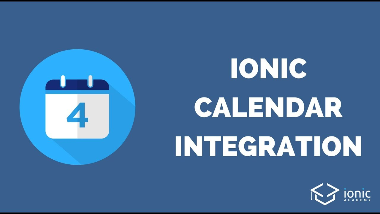 Read and Write Your Native Calendar with Ionic [v3] - Ionic