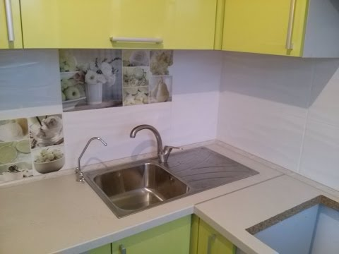 Керамическая плитка для кухни на фартук, панно, каталог