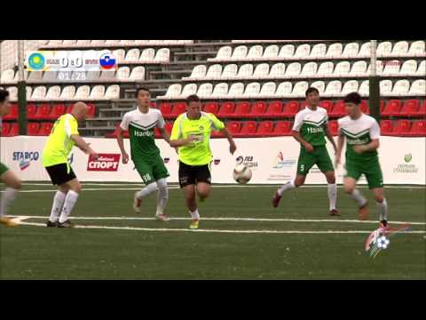 """Art-football"" 03.06.2016 – Kazakhstan - Slovenia 1:3 (full match) 