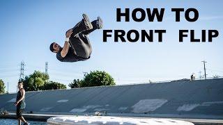 Video How to do a Front Flip/Tuck- Strength Project Street Tumbling Frontflip Tutorial Series download MP3, 3GP, MP4, WEBM, AVI, FLV September 2018