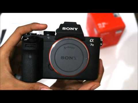 Unboxing Sony A7ii + Lens FE 85mm F/1.8 Full-Frame Mirrorless Camera Indonesia 2017