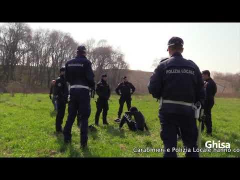 Polizia Locale Milano. Blitz con i Carabinieri nel Bosco di Rogoredo