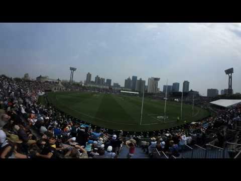 Never Tear us Apart - Port Adelaide v Suns in Shanghai, China