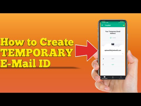 How To Create Temporary Email ID OR Disposable Fake Email Id