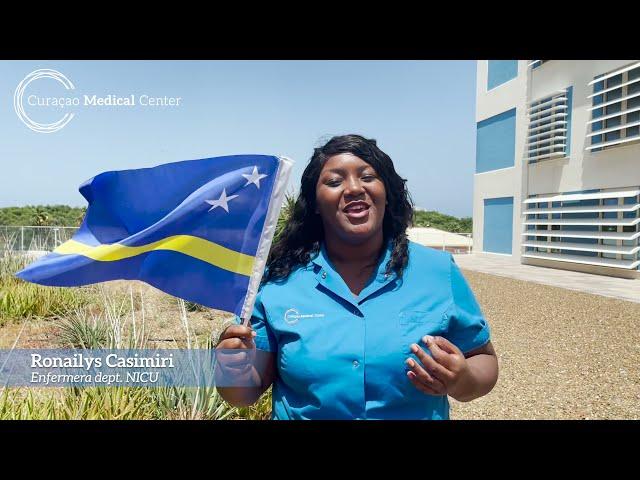 Felis dia di Bandera di parti di Curaçao Medical Center