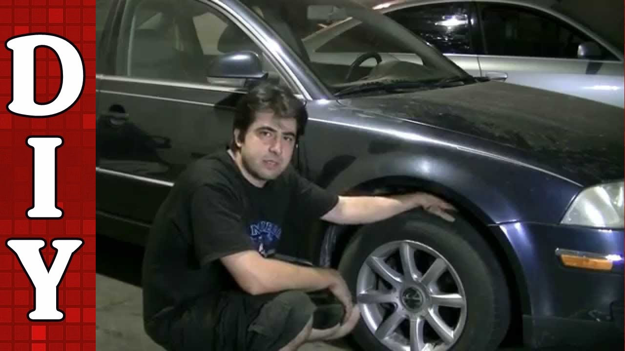 How to Remove and Replace a CV Axle - VW Passat Audi A4 A6