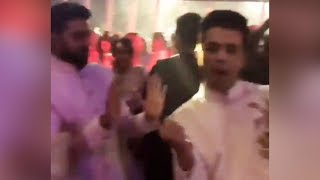 Abhishek Bachchans FUNNY REACTION on Karan Johars DANCE
