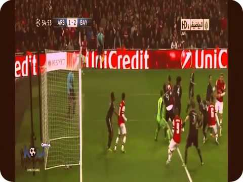 Arsenal 1-3 Bayern all goals & Highlights 19/02/13