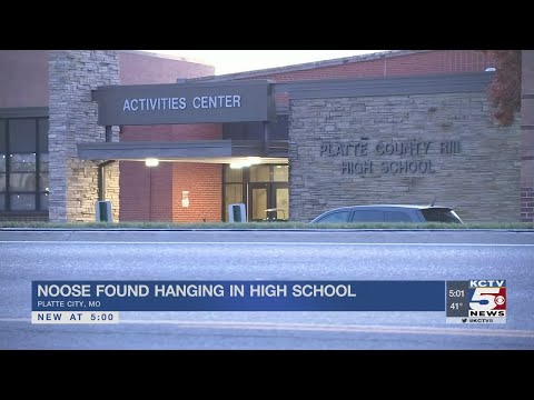 Noose found hanging in restroom at Platte County High School