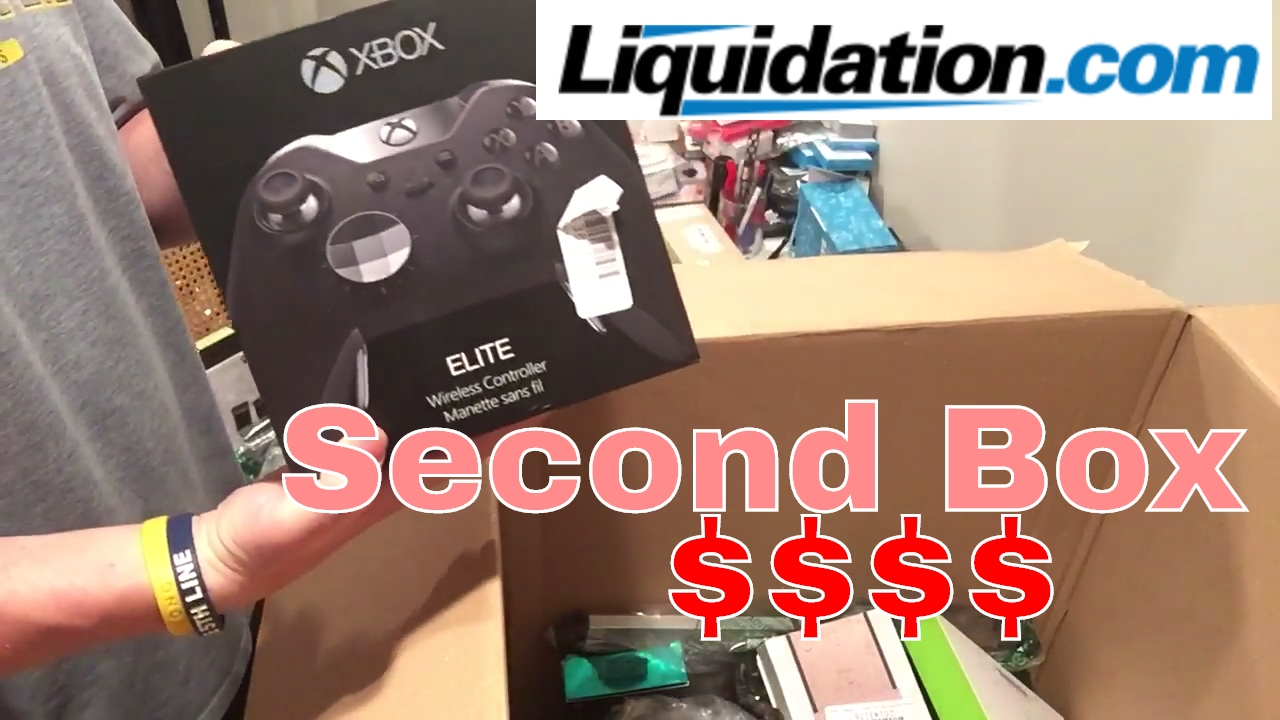 Xbox Elite Controller Unboxing Second Electronics Lot Liquidation com for  Resell on eBay