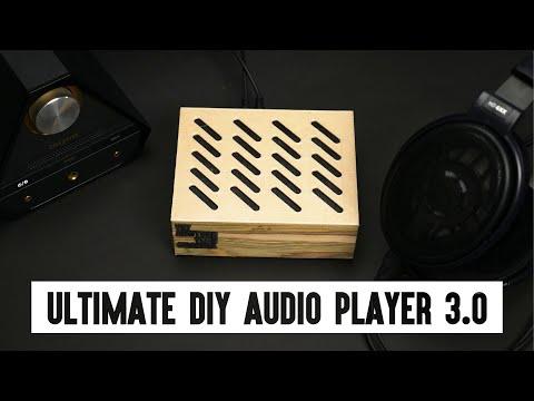 DIY Ultimate Audio Player 3.0 - modded HiFiBerry DAC+ Pro