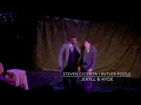 Steven Ciceron as Butler Poole in Jekyll & Hyde
