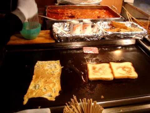 Best late night breakfast sandwich in Seoul
