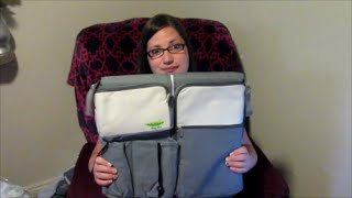 3 in 1 Diaper bag, Travel Bassinet and Changing Station