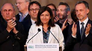 La Socialista Anne Hidalgo, Reelegida Alcaldesa De París Tras Las Municipales