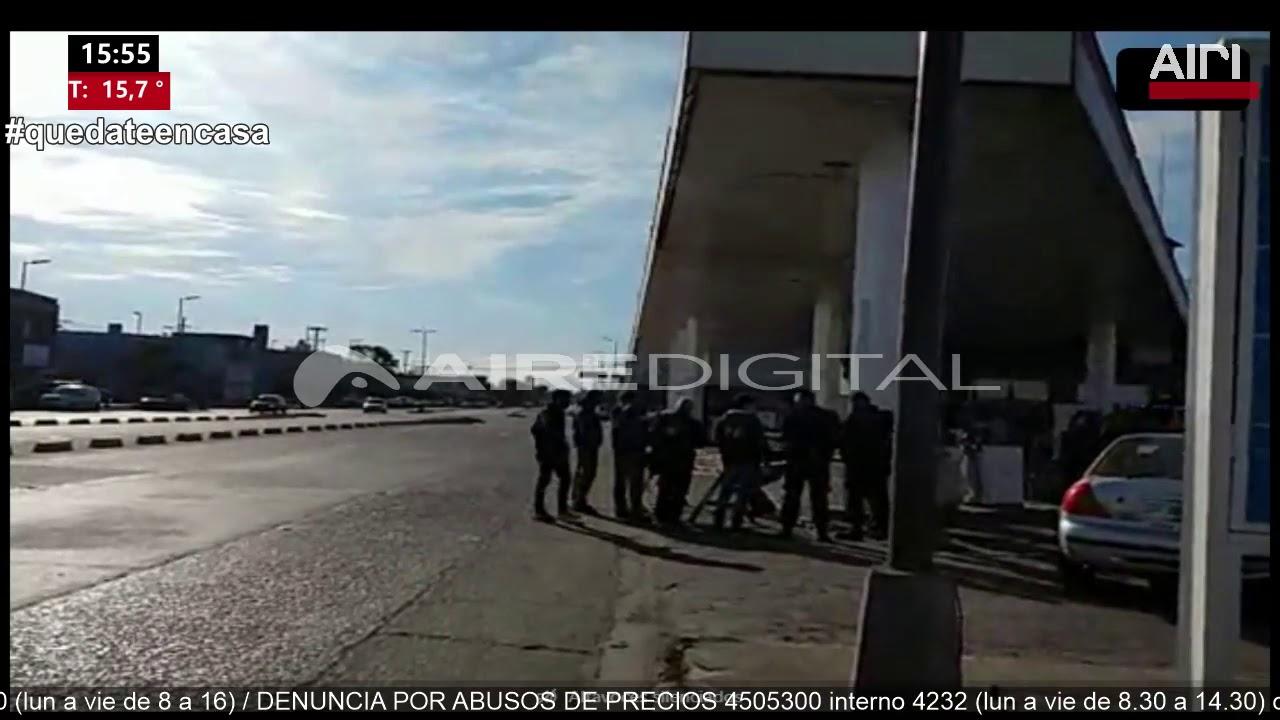Una mujer baleó a otra en una estación de servicios del barrio San Martín