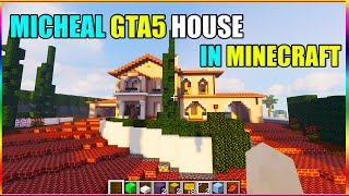 Micheal's house in minecraft | mincraft hindi gameplay