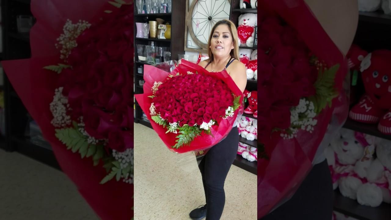 Los ramos de rosas mas grandes youtube - Ramos de flores grandes ...