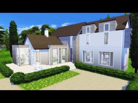 CLEAN CONCRETE | SPEED BUILD | The Sims 4 CC