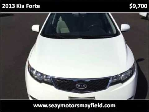 2013 kia forte used cars mayfield ky youtube for Seay motors mayfield ky