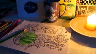 Colouring Book Subscription Box - Hue