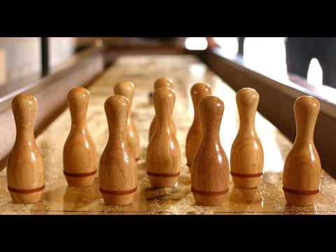"""The Ottawa"" Holland Game Room Shuffleboard Table"