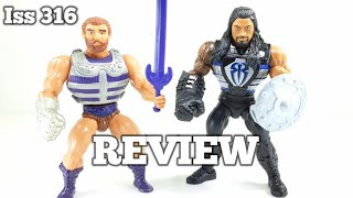 Masters of the WWE Universe, [ Roman Reigns ] REVIEW. Mattel