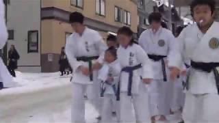 新春伝統行事! 勧仁塾雪中ランニング画像