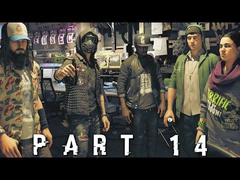 Watch Dogs 2 - PABLO THE SKINNER - Walkthrough Gameplay Part 14 (PS4 PRO)