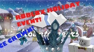 Roblox Holiday Event - Ice Crown - Mountaineers