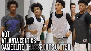 3 TOP AAU PROGRAMS & 1 GYM!! Grassroots United ft. Ashton Hagans, Sharife Cooper, BJ Boston & More!! thumbnail