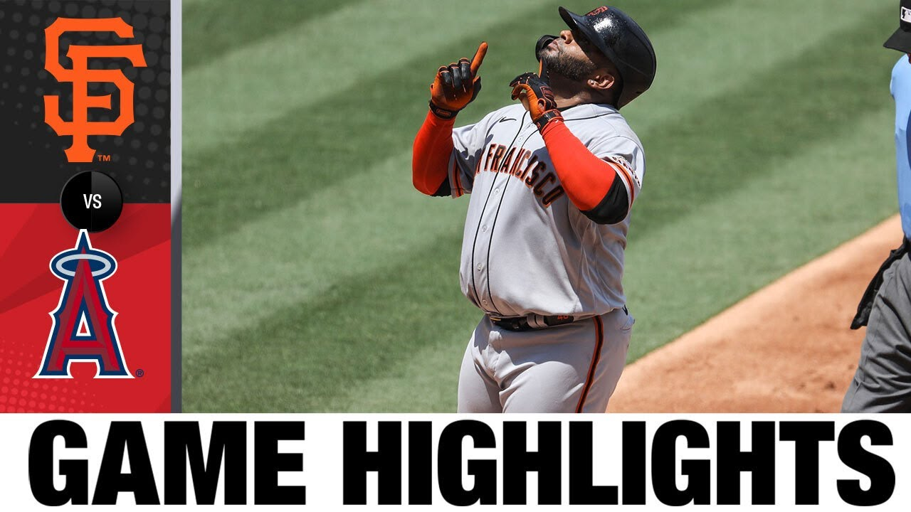 Pablo Sandoval homers, knocks in three in 8-2 win   Giants-Angels Game HIghlights 8/18/20